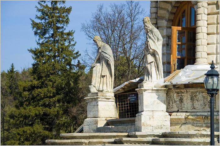 Усадьба Дубровицы. Церковь