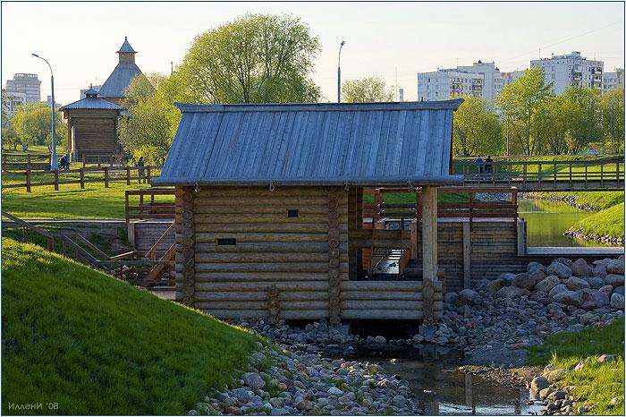 Коломенское. Водяная мельница